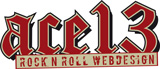 ace13 - Rock n Roll Webdesign
